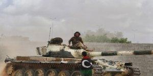 Libya Ordusundan Saldırı Hazırlığındaki Hafter Milislerine Hava Harekatı