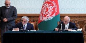 Afganistan'da Gani ile Abdullah Anlaştı