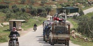 İdlib'de Evine Dönen Sivillerin Sayısı 271 Bine Ulaştı