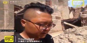 Tayvanlı Youtuber Doğu Türkistan'da Şahit Olduğu Çin Zulmünü Anlattı