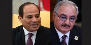 Sisi ve Hafter'den Darbeci Dayanışması