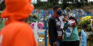 Brezilya'da Kovid-19 Nedeniyle Son 24 Saatte 1039 Kişi Hayatını Kaybetti
