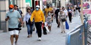 Belçika'da Kovid-19 Vaka Sayısı 58 Bine Yaklaştı