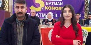 HDP Batman İl Eş Başkanı Fatma Ablay ve Ömer Kulpu Gözaltına Alındı