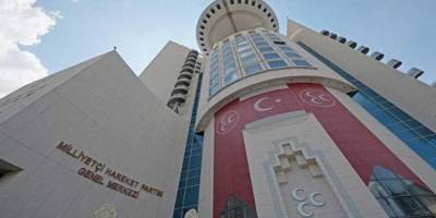 3 İlçe Başkanı MHP'den İstifa Etti İddiası