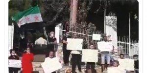 İşgal Altındaki Golan Tepelerinde de Esed Karşıtı Gösteri Yapıldı!