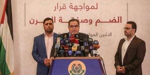 Hamas: İsrail'in İlhak Planıyla Mücadele İçin Ulusal Faaliyet Başlatıldı