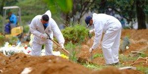 Brezilya'da 1022, Meksika'da 387, Hindistan'da 306 Kişi Kovid-19'dan Hayatını Kaybetti