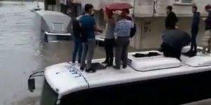 İstanbul'daki Selde 1 Suriyeli Muhacir Hayatını Kaybetti