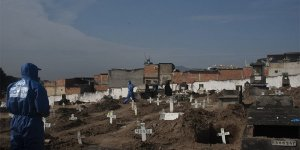 Brezilya'da Son 24 Saatte 1280 Ölüm