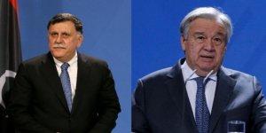 BM Genel Sekreteri Guterres Libya Başbakanı Serrac İle Görüştü