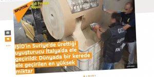 Esed-Rusya İttifakının Sesi Sputnik'in Haber Tarzı: IŞİD'in Uyuşturucu Trafiği (!)