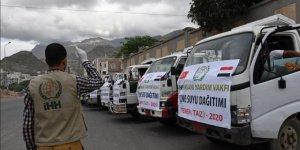 İHH Yemen'e 6 Ayda 250 Bin Kişilik Yardım Yaptı