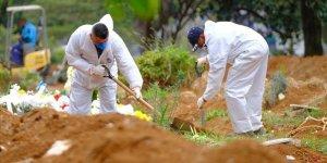 Kovid-19 Nedeniyle Brezilya'da 1071 Kişi Daha Öldü