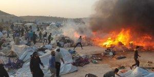Artan Sıcaklıklar İdlib Kamplarında Yaşayanları Tehdit Ediyor