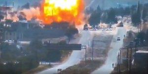İdlib'de Türkiye-Rusya Ortak Devriyesine Bombalı Saldırı
