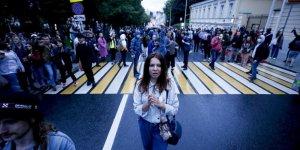 Rusya'da Putin'e 2036'ya Kadar Başkanlık Yolunu Açan Anayasa Değişikliği Protesto Edildi