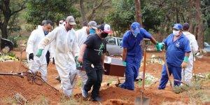 Kovid-19 Nedeniyle Brezilya'da 921, Meksika'da 578, Hindistan'da 543 Kişi Öldü