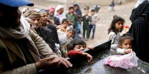 Husilerin kontrolündeki bölgelerde 4 milyon Yemenli zor şartlarda yaşıyor