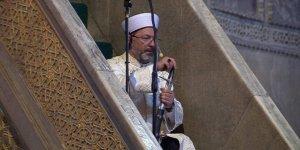 Ali Erbaş: Kılıçla hutbe geleneğini sürdüreceğiz