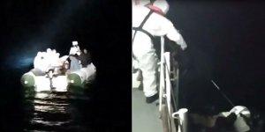 Yunanistan'ın Çanakkale açıklarında ölüme terk ettiği 28 sığınmacı kurtarıldı