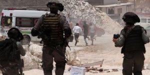 İşgal güçlerinden Batı Şeria'daki Filistinli göstericilere müdahale