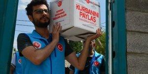 Türkiye Diyanet Vakfı'ndan Suriye'de 900 bin kişiye kurban eti