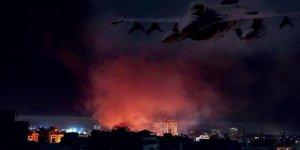 Siyonist İsrail Gazze'de tarım bölgesine saldırdı