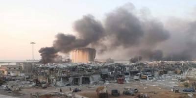 Beyrut Limanı'ndaki ağır enkaz kaldırılmayı bekliyor