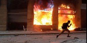 Lübnan'da sokaklar savaş alanına döndü