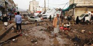 Yemen'deki sel felaketinde binlerce aile zarar gördü