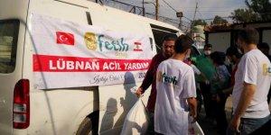 Fetih-Der'den Lübnan'daki mazlumlara yardım