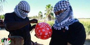 Siyonist İsrail'in Gazze'de balonlarla savaşı