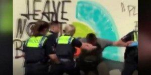 Almanya'da polis şiddeti: 15 yaşındaki çocuğa sert müdahale