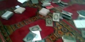 İran'a bağlı mezhepçi çeteler Humus'taki Sad bin Ebi Vakkas Camiini tahrip etti