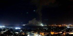 Siyonist İsrail savaş uçakları Gazze'ye hava saldırısı düzenledi