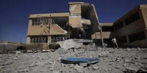 Suriyeli çocuklar bu yıl yine Esed-İran-Rusya'nın harabeye çevirdiği binalarda eğitim görecekler