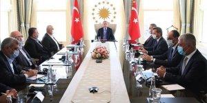 Cumhurbaşkanı Erdoğan, Hamas Siyasi Büro Başkanı Heniyye ile görüştü