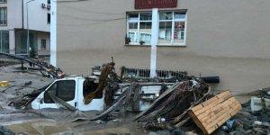 Giresun'daki sel felaketinin boyutu sabah ortaya çıktı