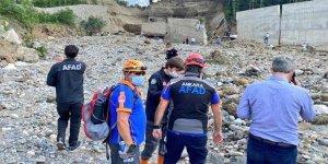 Giresun'daki selde hayatını kaybedenlerin sayısı 7'ye yükseldi