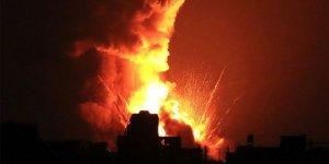 Siyonist İsrail Lübnan Hizbullah'ına ait gözlem noktalarını vurdu