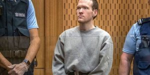 Terörist Tarrant'a müebbet hapis cezası verildi
