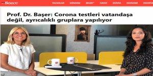 Corona testleri vatandaşa değil, ayrıcalıklı gruplara yapılıyormuş!