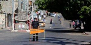 Gazze'de Kovid-19 önlemleri kapsamında sokağa çıkma yasağı uzatıldı