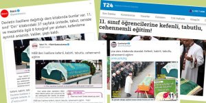 Skandal: Din Kültürü dersinde üç katlı kek tarifi yerine ölü yıkama eğitimi!