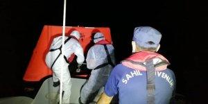 Yunanistan'ın ölüme terk ettiği 9 göçmen kurtarıldı