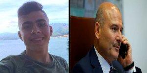 Bakan Soylu, Samsun'da öldürülen Suriyeli gencin ailesine taziyelerini iletti