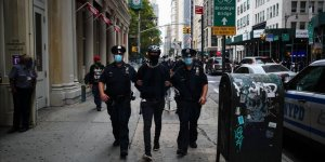 ABD'de göçmenlik politikaları karşıtı protestoda 20 gözaltı