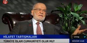 Karamollaoğlu'na göre hilafet devam ediyordu, AK Parti kaldırdı!