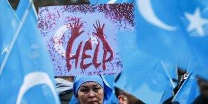 Uygur aktivist BM'de konuştu: Halkıma karşı işlenen bir soykırım var